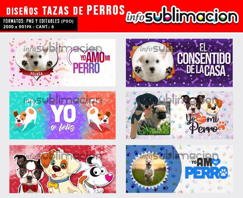 diseños de tazas de perros