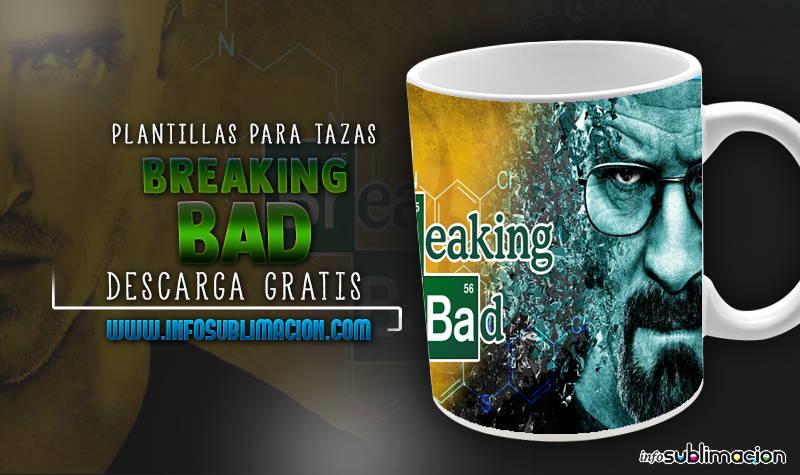 plantillas para sublimar tazas de breaking bad